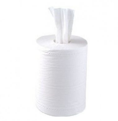 Flat Mini Centrefeed White – 1 ply