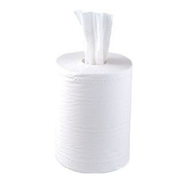 Flat Mini Centrefeed White – 2 ply