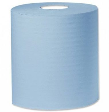 Embossed Centre feed blue – 2 ply