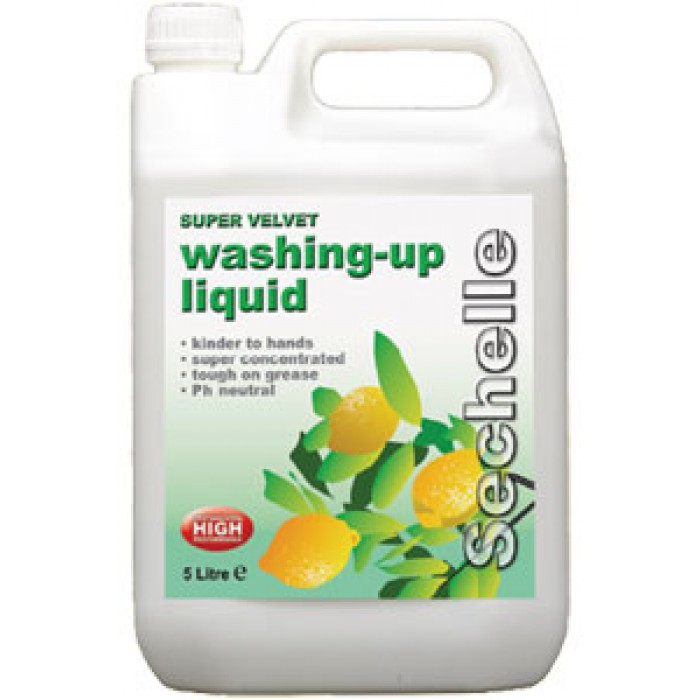 Super Velvet Washing up Liquid  – 5 litres