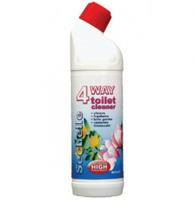 V8 4 Way Toilet Cleaner – 1 litre x 12 bottles