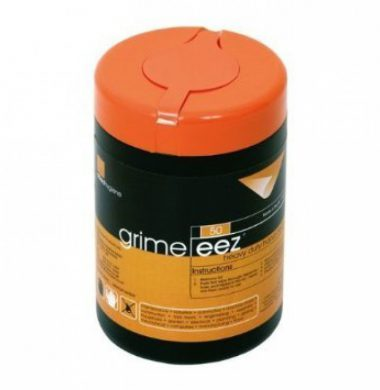 Grime-Eez Heavy Duty Wipes 25x20cm 50 sheets x 10 tubs