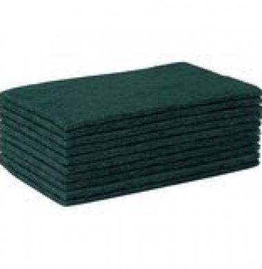 Scouring Pad Green x 10 pads