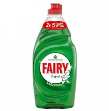 Fairy Liquid Original Washing Up Liquid  – 900ml x 6 bottles