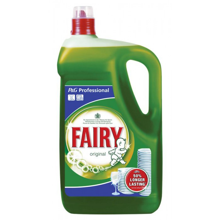 Fairy Liquid Original Washing Up Liquid  – 5 litres