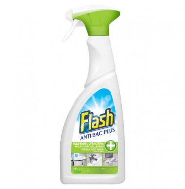 Flash Multi Surface 3 in 1 Anti Bacterial Cleaner – 750ml x 6 bottles
