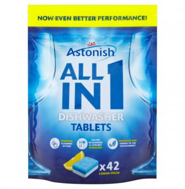 Astonish All in One Dishwashing Tablets x 42 tablets