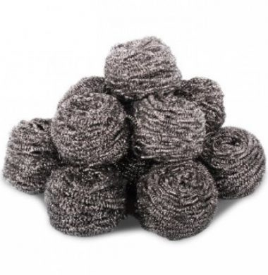 Galvanised Steel Scourer x 10