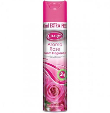 Charm Air Freshner Aroma Rose – 300ml (12 per case)