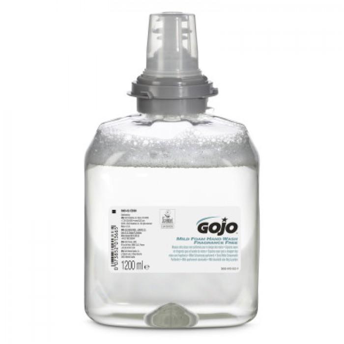 Gojo TFX Mild Foam Handwash Fragrance Free – 1200ml