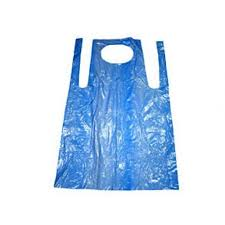 Aprons Blue Flat Pack (pack of 100 x 10)