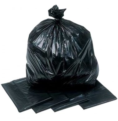 Refuse Sacks Black Heavy Duty  – 180g (200 sacks per case)