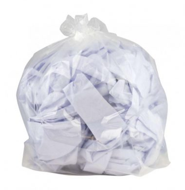 Clear Recycled Sack Heavy Duty – 180g