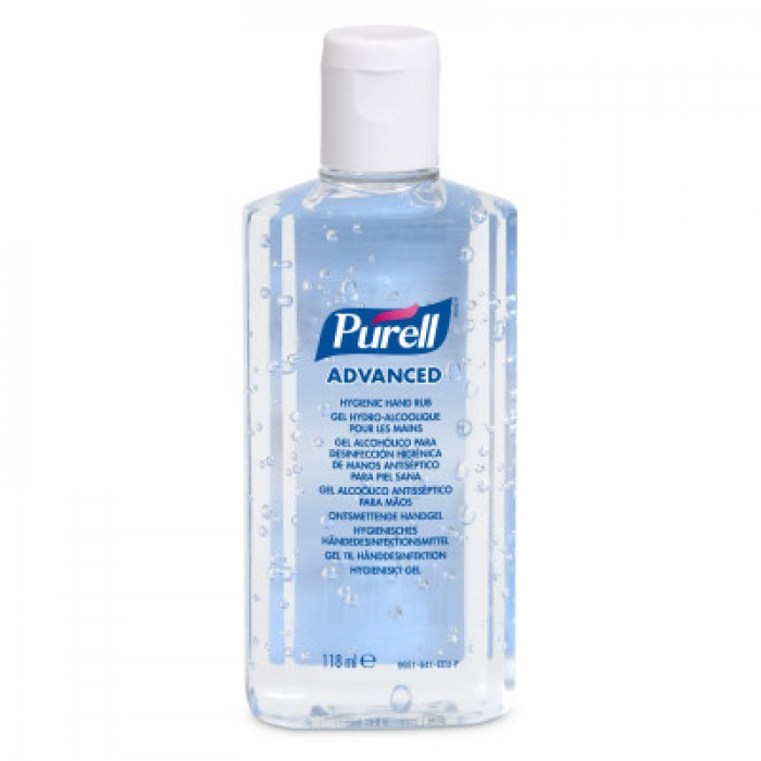 Gojo Purell Hand Gel Flip Top Bottle  – 118ml
