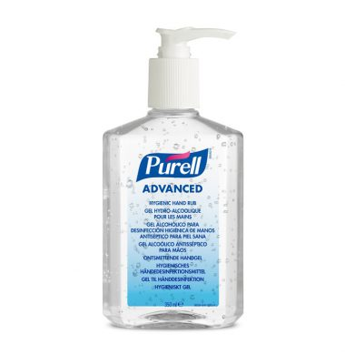 Pure Advanced Hand Sanitiser Pump Action – 300ml