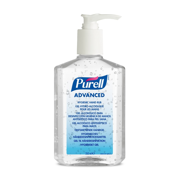 Pure Advanced Hand Sanitiser Pump Action – 300ml