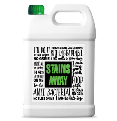 Stains Away 5 Litre (Powerful multi-purpose high concentrate cleaning solution)