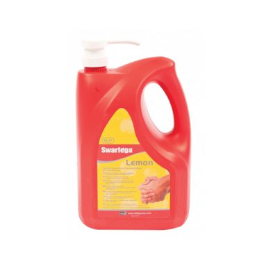 Swarfega Lemon 4 litre bottle with pump LAST FEW BOTTLES REMAINING!!!!