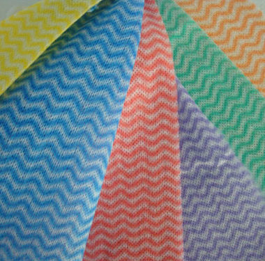 Wavy Line Cloth – 50 per pack BLUE