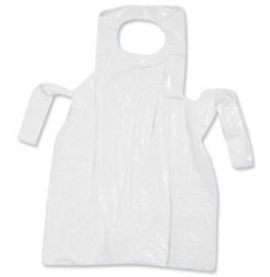 Aprons White Flat Pack (pack of 100 x 10)