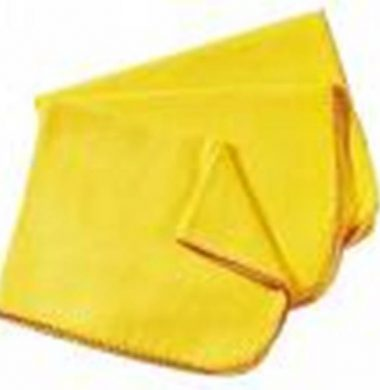Yellow dusters 50 cm x 50cm – 10 per pack
